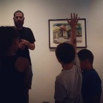 Kids are learning about art as they tour our newhellip