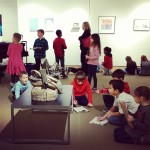 Kids from Ellington school learned about different types of artworkhellip