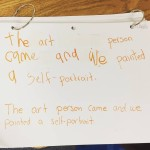 A K 3rd grade Berrian student wrote this in theirhellip