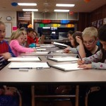 Kids in our Wednesday after school program received their arthellip