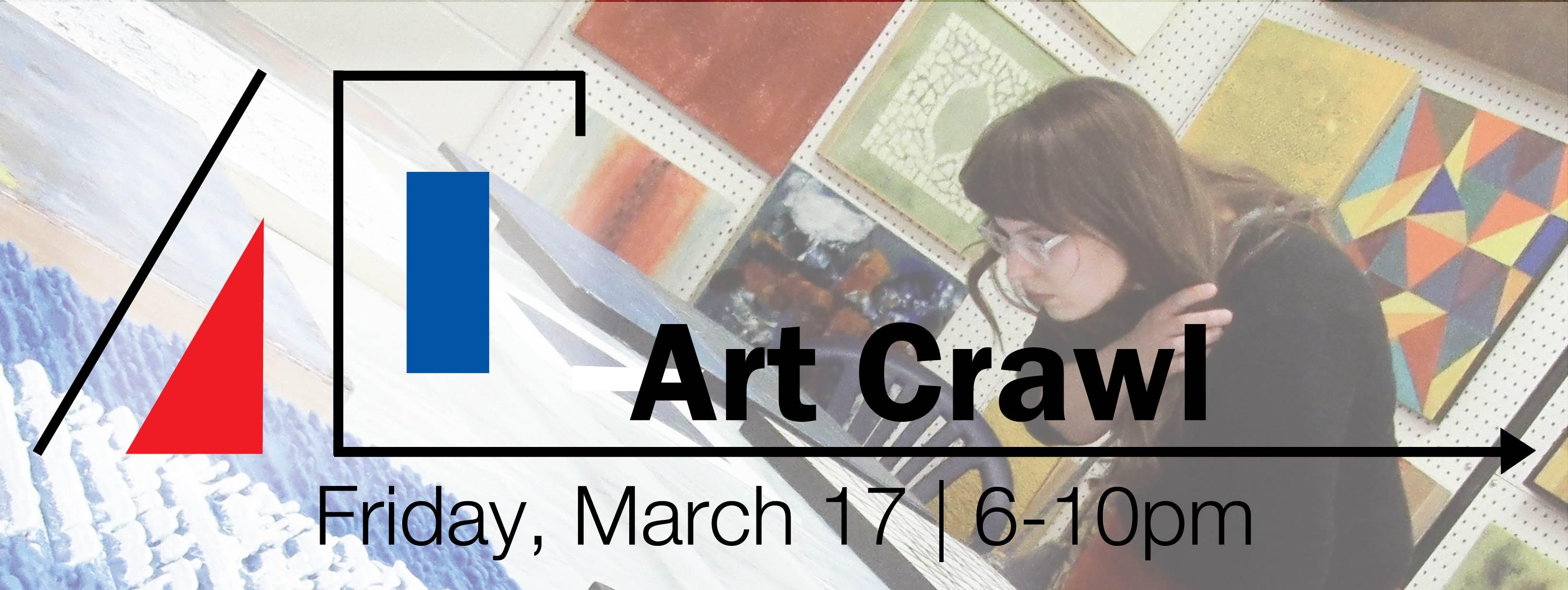 2017 Art Crawl website header