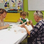 Paint Your Own Pottery is under way! PYOP quincyartcenter