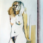 Standing FIgure-Watercolor, 72577#5